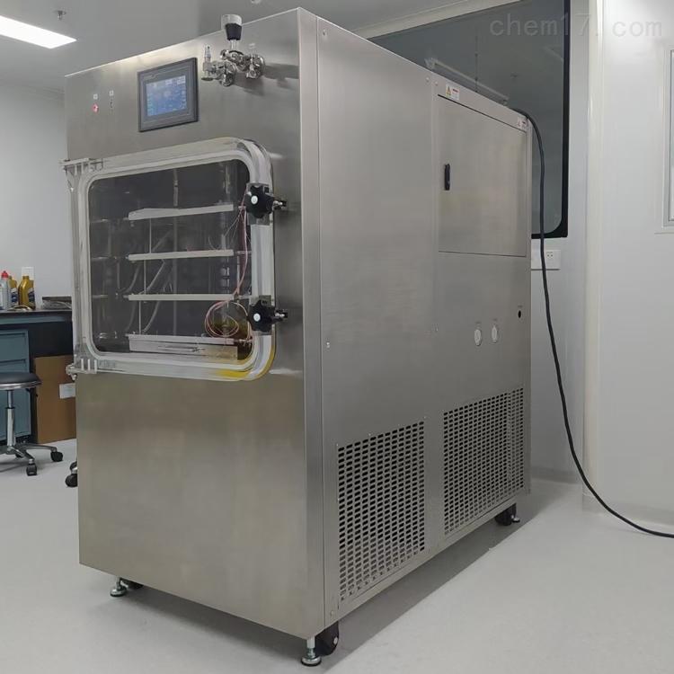 一平米中试压盖冷冻干燥机LGJ-100F价格