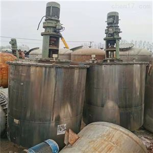 长期处理二手8000L电加热饮料搅拌罐报价