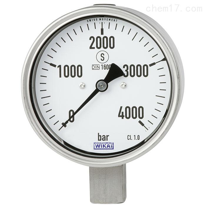 德国WIKA威卡双金属温度计符合EN13190标准