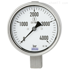 PG43SA-C德国WIKA威卡平嵌隔膜式压力表,表圆直径63