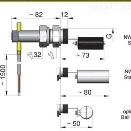 NW1-020HMA A-U1-2豪斯派克honsberg液位开关液位计防爆NW1