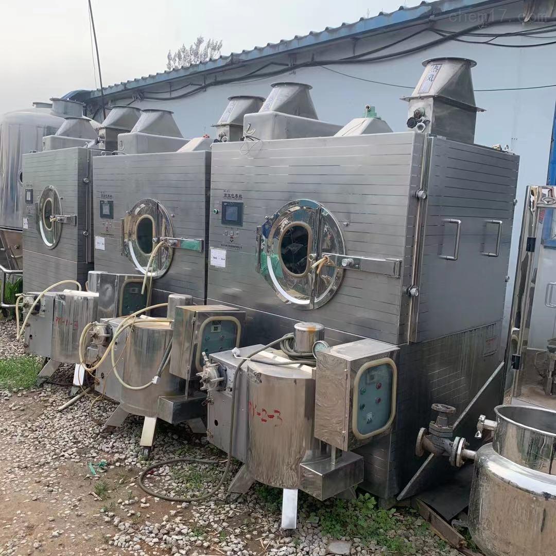 长期回收制药厂二手包衣机 制粒机