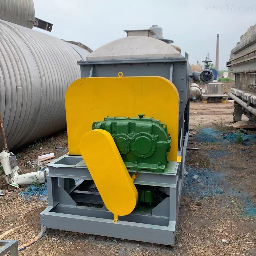 高价回收二手空心桨叶干燥机