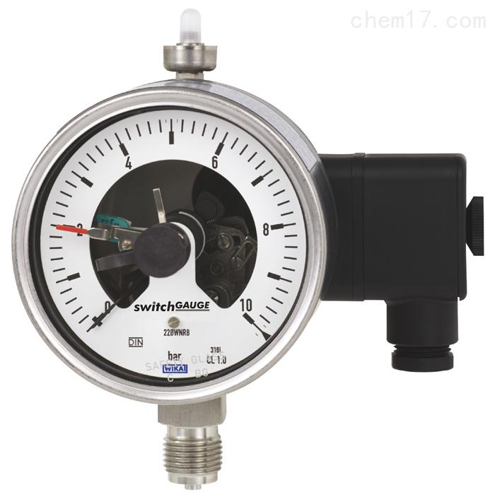 WIKA工业生产用波登管压力表PGS23.100