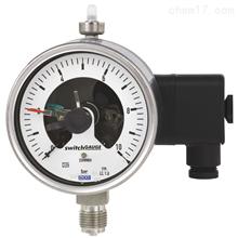 WIKA带开关电接点波登管压力表PGS23.100