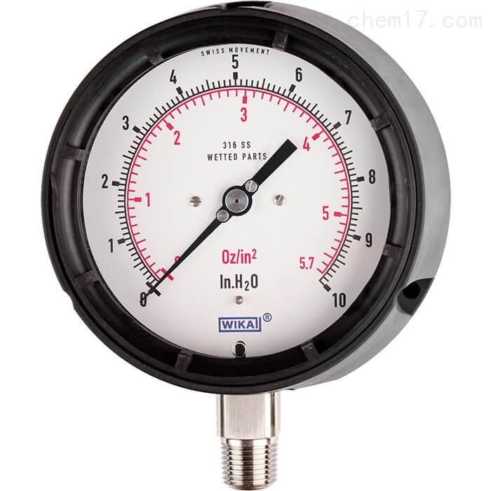 WIKA威卡膜盒式压力表633.34可用在过程工业