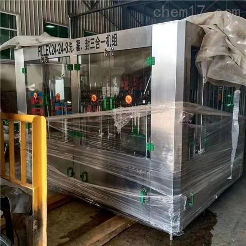 二手玻璃胶灌装机