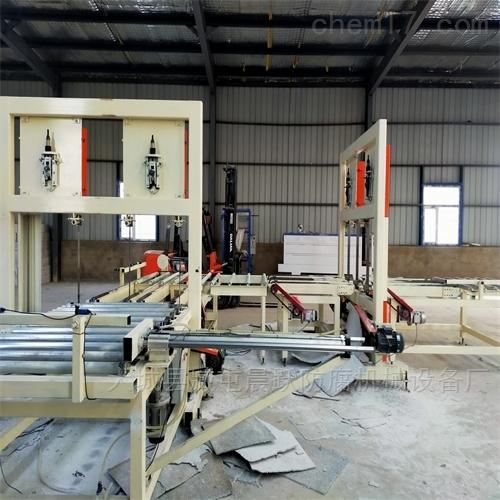 模压水泥基匀质板切割锯 分层锯 连抛锯设备