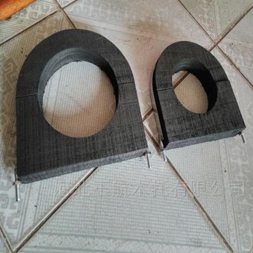 管道工程专用 保冷木托 保温木质木托管卡