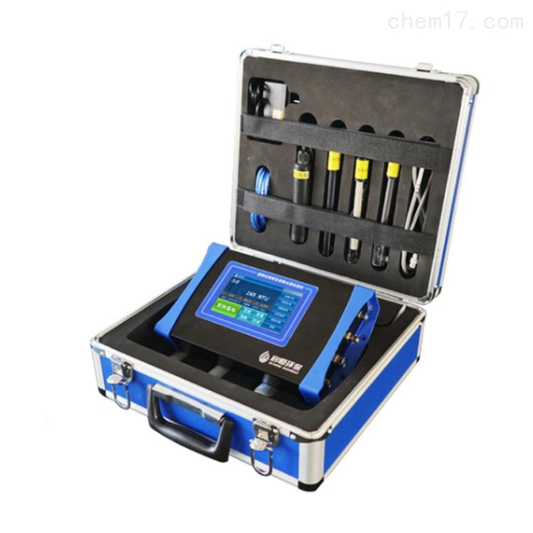 启恒 便携式常规五参数水质检测仪