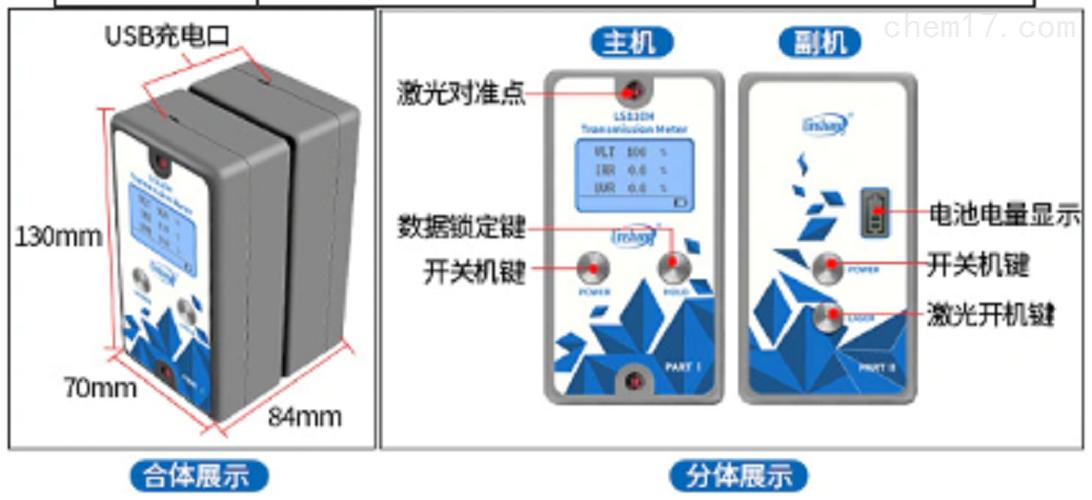 分体式透过率测量仪