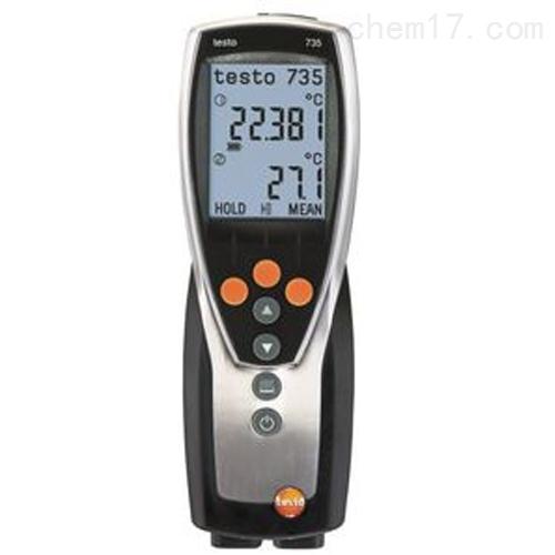德图testo 735-1 - 温度测量仪 (3通道)