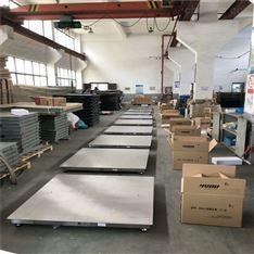 嘉兴1000kg不锈钢平台秤 2吨防水防腐蚀地磅