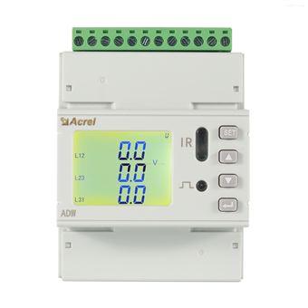 ADW400-D10-3S安科瑞三路三相配合环保用电监管平台使用