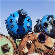 8吨供应二手5立方蒸汽电加热盘管反应釜