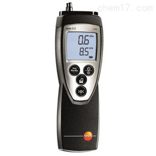 德图testo 512 - 差压测量仪,0~20hPa