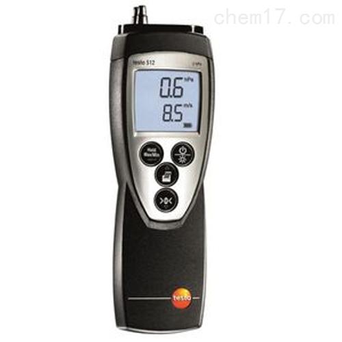 德图testo 512 - 差压测量仪,0~2 hPa