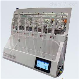 QYZL-6B江苏硫酸铵蒸馏仪 实验室蒸馏装置仪器 乔跃