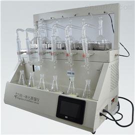 QYZL-6B浙江实验室氨氮蒸馏装置一体化全自动蒸馏仪