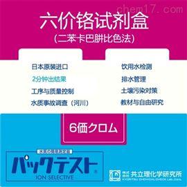 WAK-Cr6+日本共立试剂盒水质快检六价铬Cr6+
