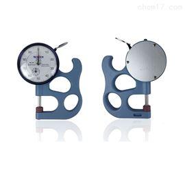 日本得乐teclock厚度计0-10mm厚度测量表