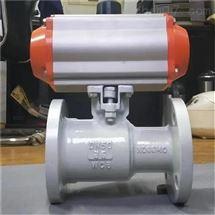 QJ641M/QJ641F气动一体式高温球阀