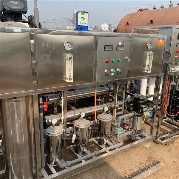 回收净水机二手1吨双机水处理 纯水设备