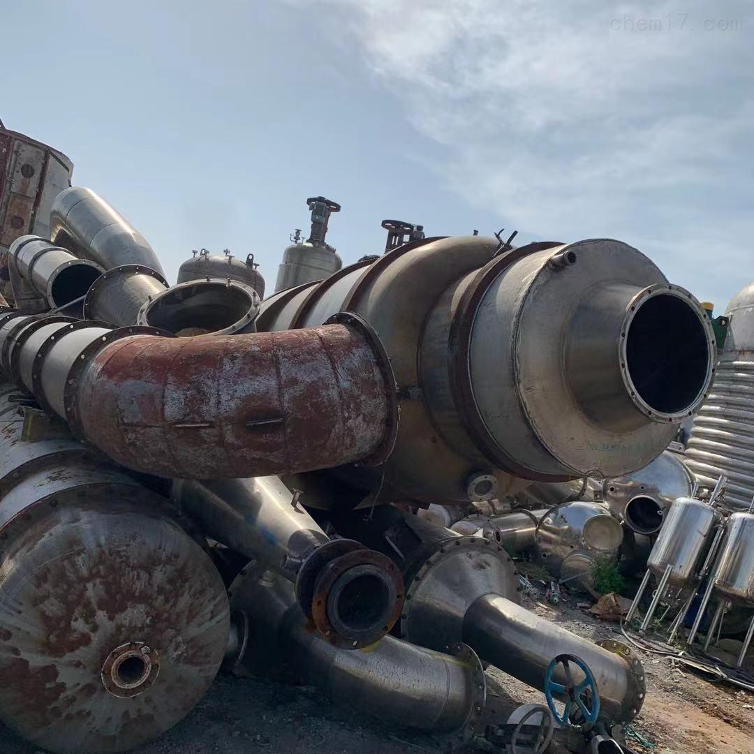 长期回收二手化工厂 MVR蒸发器