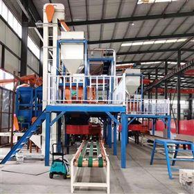 硅质板加工生产线