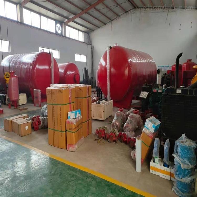 泵房消防气体顶压给水设备