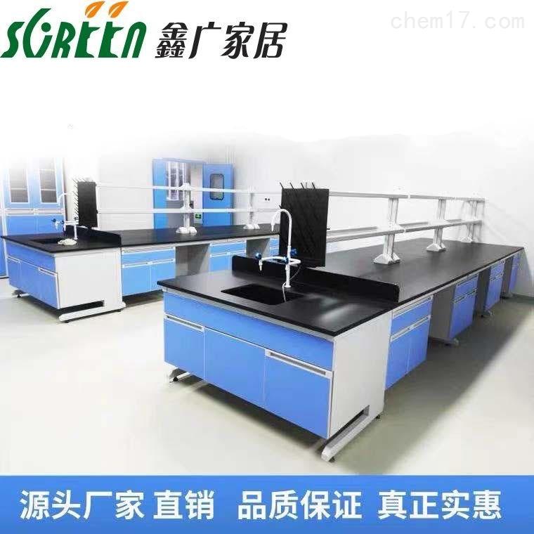 山东钢木实验台,桌子试验边台实验家具设备