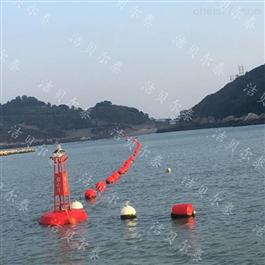 HB1800*1800海上警示拦截指向标识塑料浮标助航航标