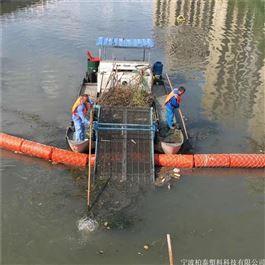 FT200*1000柏泰水上垃圾拦截漂浮物拦污浮筒
