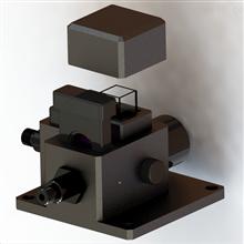 SMO-01A比色皿吸光度光學分析支架