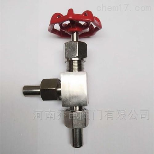 J24W不锈钢角式针型截止阀