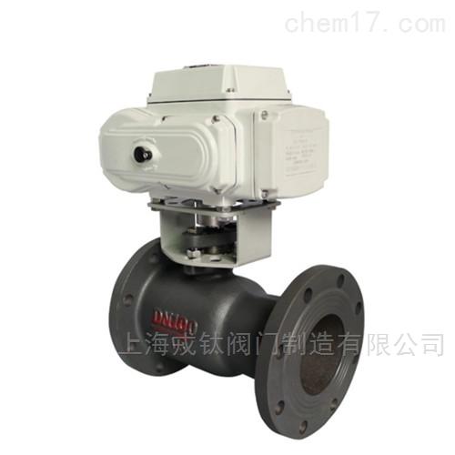 Q941M电动一体式高温球阀