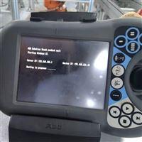 ABB机械手开机一直显示在加载状态厂家修理