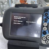 ABB机械手示教器启动无法进入系统修理方法