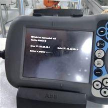 ABB维修保养ABB机械手示教器启动无法进入系统修理方法