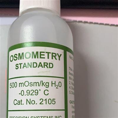 2105 2100 2101 2105PSI标准液耗材5007渗透压仪专用