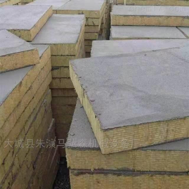 砂浆纸复合岩棉板设备生产厂家