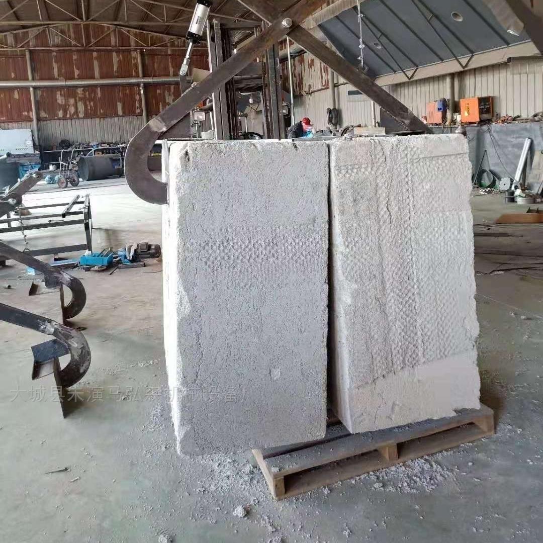 压制颗粒保温板连续分层切割锯连抛锯厂家