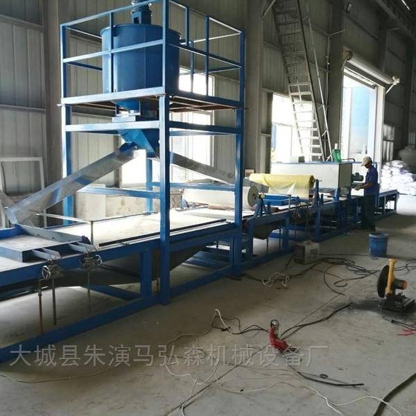 增强型水泥发泡板砂浆复合板设备定做