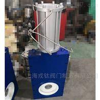 GZ643TC气动陶瓷单阀板闸阀