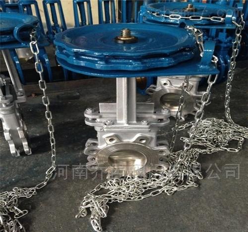 链轮式不锈钢闸板阀