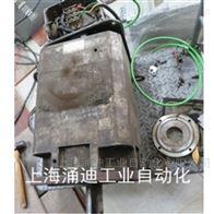 西门子伺服电机端盖撞变形维修更换