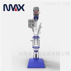 YSF(EX)-1L-5L小型防爆双层玻璃反应釜