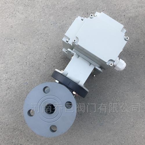 Q941F-10V电动CPVC球阀