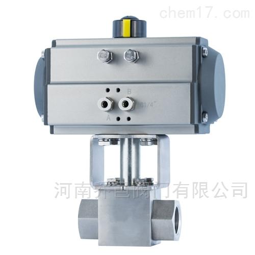 Q611N气动高压内螺纹球阀