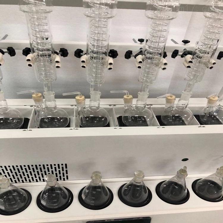 内制冷一体化水蒸气蒸馏仪6通道GY-FSZLY-6